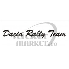 Parasolar auto Dacia rally team