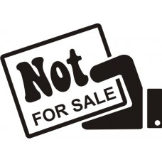 not for sale