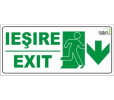 Sticker psi exit 4 20x9cm