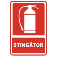 Sticker psi stingator 30x20cm