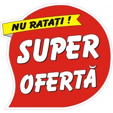 Sticker super oferta